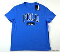 Polo Ralph Lauren Polo 1967 Spellout T-Shirt Blue Classic Fit Men's Large