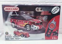 Meccano Tuning Radio Control Red Racing Car 6952 In Box Brand New