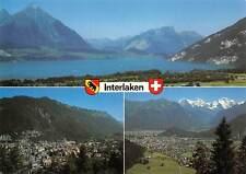 Switzerland Interlaken Berner Oberland Gesamtansicht See Lake Panorama
