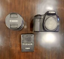 Canon EOS 70D 20.2MP Digital SLR Camera Black with Canon zoom lens ef-s 18-135mm