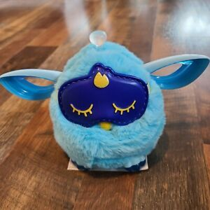 Furby Connect Blue Interactive Toy Pet Hasbro with Sleep Mask Tested and Working