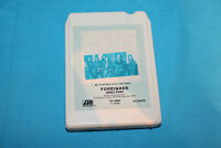 Classic Rock 8 Track Tape ~ Foreigner ~ Double Vision ~ Hot Blooded ~ TESTED