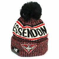 New Era - Essendon Bombers Authentic Team Multi Colour Pom Knit Beanie