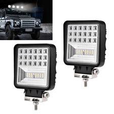 2X 48W LED Arbeitsscheinwerfer LED Autolampe Fluter Außenleuchte Kaltweiß  12V