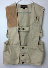 vintage 10-X HUNTING OUTDOORS SHOOTING VEST SIZE 32