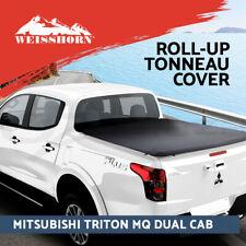 Weisshorn Tonneau Cover Fit Mitsubishi MQ Triton Dual Cab Clip UTE Pick Truck