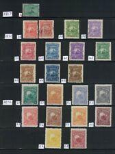 El Salvador alte Sammlung ,8 Scans, Vorder und Rückseite