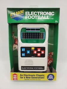 Classic Electronic Football Handheld Video Game
