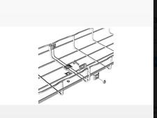 (1000) NIB Legrand Cablofil CE25EZ square cable tray splice washer..free ship!