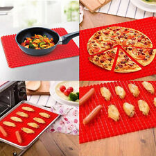 Pyramid Pan Non Stick Reducing Silicone Cooking Mat Oven Baking Tray Sheets UK