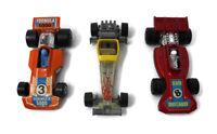 🔴 Lot of 3 Vintage Hot Wheels 1976 Odd Rod 1975 Formula 5000 1973 Team Matchbox