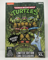 NECA TMNT Teenage Mutant Ninja Turtles Musical Mutagen Tour MERCH PACK SIZE XL