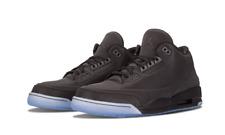 Nike Air Jordan  5Lab3 III V size 7.5. Black Clear. 3M 631603-010. cement grey