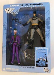 DC DIRECT BATMAN & JOKER LONG HALLOWEEN 2-PACK WITH TPB RARE SET