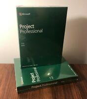 Microsoft Project Professional 2019 - New Sealed Retail Boxed - 32/64bit