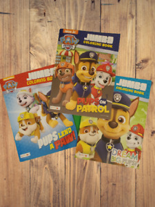Paw Patrol Coloring and Activity Books for Children by Nickelodeon