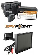 SPYPOINT LINK 12V Trail Camera Rechargeable Battery + Solar Panel Waterproof Kit