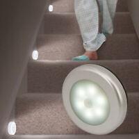 6 LED Lampe Nuit PIR Detecteur de Mouvement capteur sans Fil Lumière Cabinet