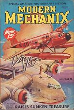 Modern Mechanix March 1938 Helium Method of Raising Sunken Treasure VG 062716DBE
