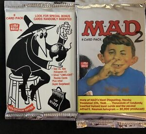 1992 MAD 2 Trading Pack and 1993 SPY VS. SPY Trading Pack