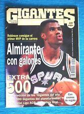 Revista GIGANTES DEL SUPERBASKET, Junio 1995! ESPECIAL, Nº 500 (100 p) MUY RARA!