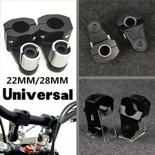"""Handle bar Clamp Riser Mount Dirt Pit bike ATV 7/8""""/1 1/8"""" 22MM/28MM  Handlebar"""