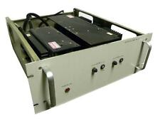 "CUSTOM 19"" RACK MOUNT POWER SUPPLY W/ 2 ACDC ELECTRONICS POWER SUPPLIES"