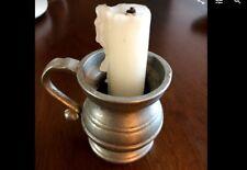 "Pewter 3"" high, 2"" diameter Miniature Mug"