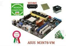 SCHEDA MADRE SOCKET AM2 ASUS M3N78-VM +CPU ATHLON  DUAL CORE 5400+4 Gb RAM/HDMI