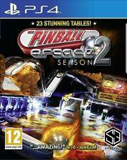 Pinball Arcade Season 2 PS4 - New and Sealed