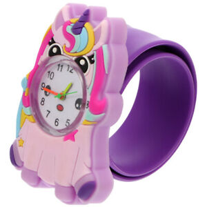 1 pc Kid's Slap Bracelet Watch Wristwatch Watch
