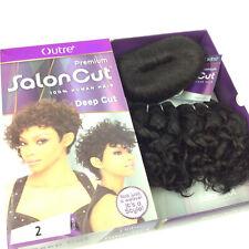 Outre Premium Salon Deep Cut #2 Brown All In One Human Hair Extensions In A Box