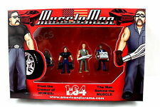 AMERICAN DIORAMA 1:64 MUSCLE MEN SET OF 4 FIGURES MODEL AD-24021