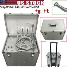 Dental Portable Mobile Delivery Unit Suction System Rolling Case Compressor Usa