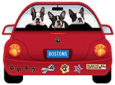Boston Terrier-Pupmobile Magnet