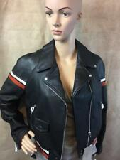 Zara Faux Leather Jacket With Knitted Detail B2 Size XL Ref 3046 029
