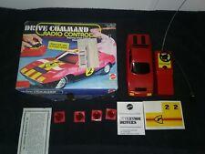 Drive Command Radio Control Ferrari 512 Racer Mattel NOT WORKING