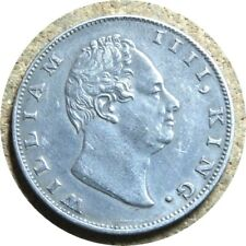 elf India East India Company  1 Rupee 1835 (c) William IV F on truncation