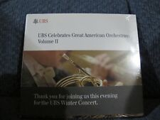 UBS Celebrates Great American Orchestras: Volume II CD Brand NEW Sealed
