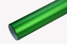 6,2€/m² CHROM MATT - APFEL GRÜN - 1000 x 152 cm metallic Auto Klebe Folie 3D fle