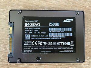 Samsung 840 EVO, 250 GB