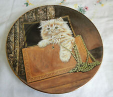"Purrfect Treasure Plate Kitten Classics 8 1/4"""