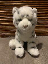 "Douglas The Cuddle Toy Silky White Tiger Plush 12"" Soft 2014"
