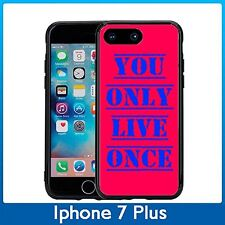 YOLO You Only Live Once For Iphone 7 Plus & Iphone 8 Plus (5.5) Case CoverRed