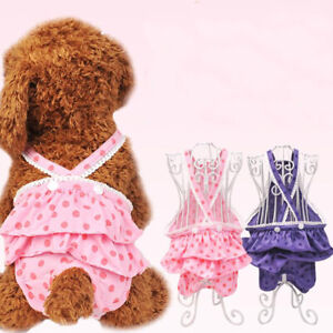 Teddy Menstrual Pants Physiological Pants Safety Bitch Estrus Pet Accessories CH