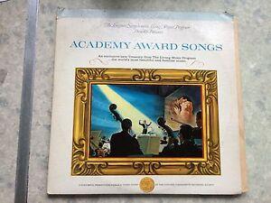 "Academy Awards Songs, 12""vinyl record Lp free post, double Lp"