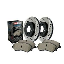 StopTech Disc Brake Pad and Rotor Kit Front for Lexus RC350 IS200t RC200t RC300