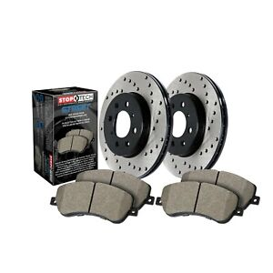 StopTech Disc Brake Pad and Rotor Kit Rear for BMW 645Ci / 545i / 550i / 650i
