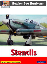 H-Model Decals 1/48 Hawker Sea Hurricane Stencils # 48111