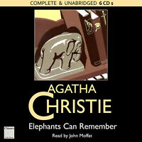 Elephants Can Remember: by Agatha Christie - Unabridged Audiobook - 6CDs